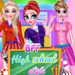BFF High school style