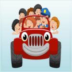 Kids Vehicles Memory