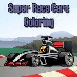 Super Race Cars Coloring