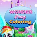 Wonder Pony Coloring